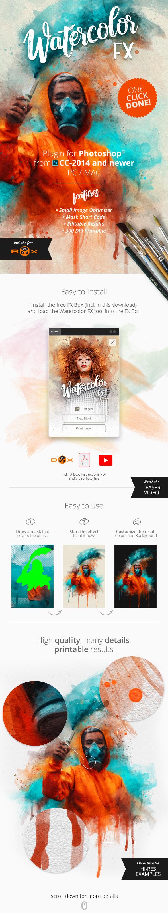 Graphicriver   Watercolor FX - Photo Effect Plugin Free Download free download Graphicriver   Watercolor FX - Photo Effect Plugin Free Download nulled Graphicriver   Watercolor FX - Photo Effect Plugin Free Download