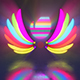 LED Lights Wings - VideoHive Item for Sale