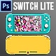 The Switch Lite Mock Up - GraphicRiver Item for Sale