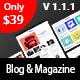 Bloxer - Blog & Magazine WordPress Theme - ThemeForest Item for Sale