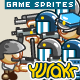"Game Character Sprites ""Police"" - GraphicRiver Item for Sale"