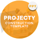 Projecty Construction Presentation Template - GraphicRiver Item for Sale