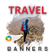 Travel - HTML5 - Banners - 7 Sizes - CodeCanyon Item for Sale