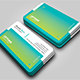 Horizontal Corporate Business Card - GraphicRiver Item for Sale
