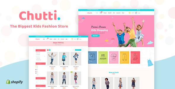 Chutti - Shopify Kids Store