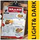 Food Menu + C Fold Menu - GraphicRiver Item for Sale