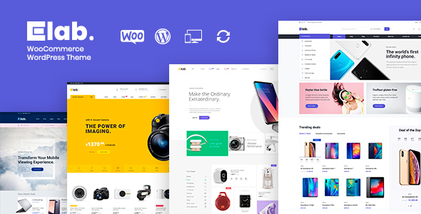 eLab - Electronics Shop WordPress Theme