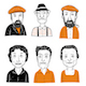 Hand Drawn Faces - GraphicRiver Item for Sale