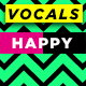 Happy Singing Girl Vocals