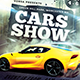 Cars Show Flyer - GraphicRiver Item for Sale