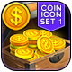 Vokr - Game IAP Coins Icon Set 1 - GraphicRiver Item for Sale