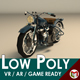 Low Poly Motorcycle 03 - 3DOcean Item for Sale