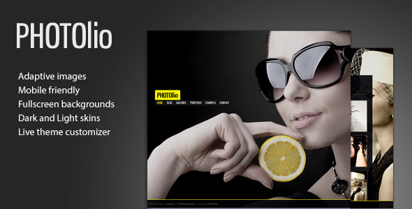 Photolio - Photography Gallery Theme for WordPress