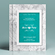Wedding Invitation and Save The Date Flyer - GraphicRiver Item for Sale