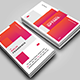 Vertical OTS Creative Business Card - GraphicRiver Item for Sale