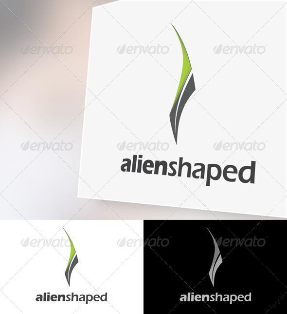 Alienshaped Logo Template