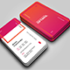 Vertical OS Creative Business Card - GraphicRiver Item for Sale