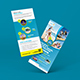 Travel Rack Card | DL Flyer Template - GraphicRiver Item for Sale