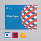 Landscape White Paper - GraphicRiver Item for Sale