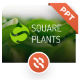 Squareplants Ecology & Environment PowerPoint Template - GraphicRiver Item for Sale