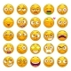 Cartoon Yellow Faces Set - GraphicRiver Item for Sale