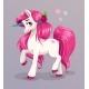 Unicorn Princess Vector Illustration - GraphicRiver Item for Sale
