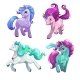 Unicorns Cartoon Pony Princess - GraphicRiver Item for Sale