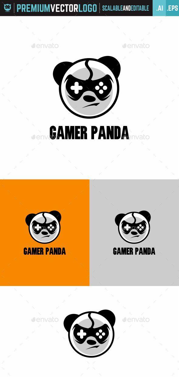 Gamer Panda Logo