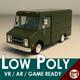 Low Poly Transporter Van 03 - 3DOcean Item for Sale