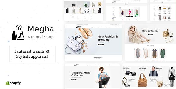 Megha - Fashion Store Shopify Theme