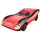 Abarth 2000 Sport Spider Low Poly - 3DOcean Item for Sale