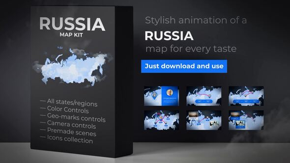 Maps After Effects Templates from VideoHive