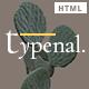 Typenal - Creative Portfolio HTML Template - ThemeForest Item for Sale