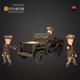 WW2 US Commander - 3DOcean Item for Sale