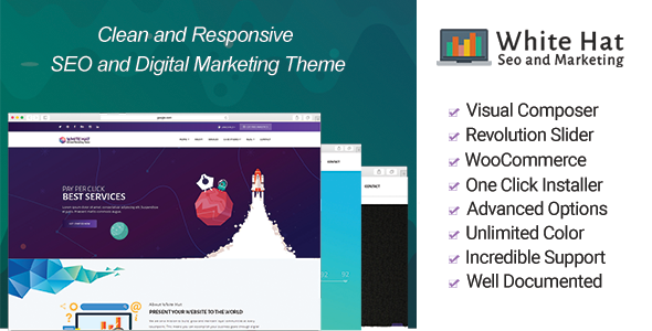WhiteHat - Digital Marketing Theme