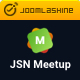 JSN MeetUp - Professional and Responsive Event Joomla Template - ThemeForest Item for Sale