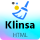 Klinsa - Cleaning Services Company HTML Templates - ThemeForest Item for Sale
