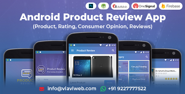 Android Product Review App (Product, Rating, Consumer Opinion, Reviews) Download