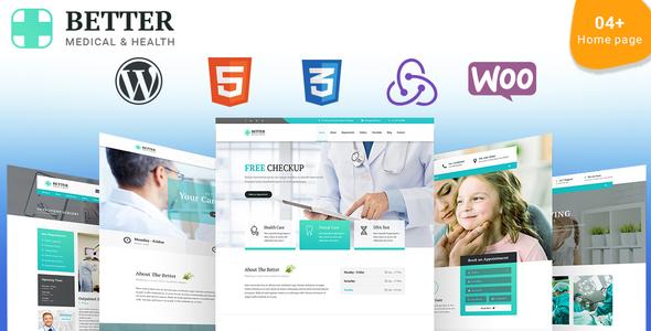 Mediczop - Responsive WordPress Theme