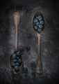 Blueberries on Vintage Spoons - PhotoDune Item for Sale
