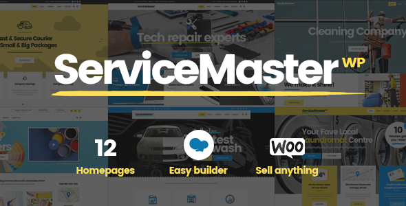 Service Master - Handyman Business Theme