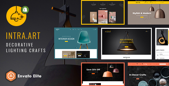 Intra Art - Shopify Multi-purpose Responsive Theme