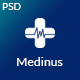 Medinus-PSD template for Medical and Hospitals - ThemeForest Item for Sale