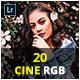 20 Cine RGB Lightroom & Camera RAW Presets - GraphicRiver Item for Sale