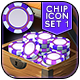 Vokr - Game IAP Chip Icon Set 1 - GraphicRiver Item for Sale