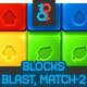 Blast Game Blocks Set - GraphicRiver Item for Sale