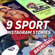 Sport Instagram Stories Pack - VideoHive Item for Sale