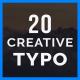 Creative TYPO - VideoHive Item for Sale