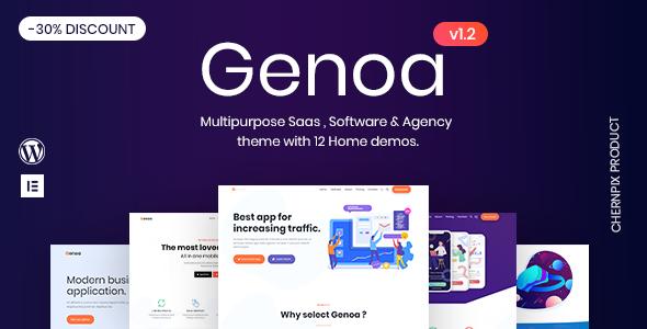 Genoa - Multipurpose SaaS & App Landing theme