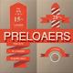 Retro Preloaders Vector Set - GraphicRiver Item for Sale